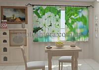 "Фото штора ""Весна цветы для кухни"" 150 х 250 см"