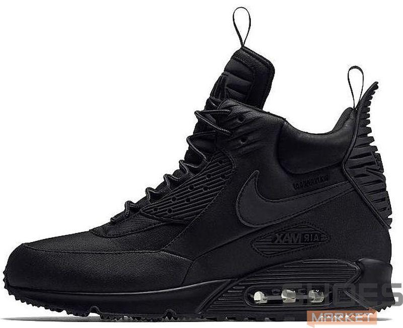 ... purchase nike air max 90 sneakerboot all black ca937 ... 3b4f4968d