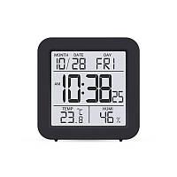 Цифровой термогигрометр Т-15 черный + батарейки
