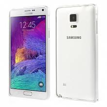 Чехол бампер металлический Love Mei для Samsung Galaxy Note 4 N910 серый