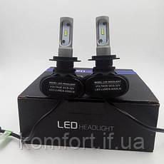 Светодиодные LED лампы для фар автомобиля S1-H4, фото 3