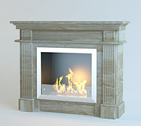 Каминный портал из мрамора Olimp Daino Reale, фото 1