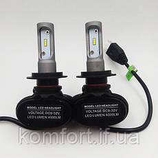 Светодиодные LED лампы для фар автомобиля S1-H7, фото 3
