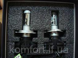 Светодиодные LED лампы для фар автомобиля X3-H1, фото 2