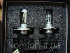 Светодиодные LED лампы для фар автомобиля X3-H7, фото 3