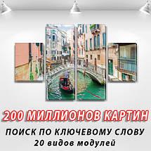 Картина из фотографии модульные на холсте дешево в интернет магазине, 50x80 см, (25x18-2/50х18-2), фото 2