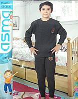 Трикотажная пижама для мальчика на байке
