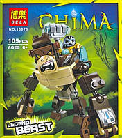 Конструктор Legends of Chima, конструктор типа лего, конструктор 10070