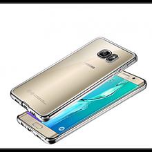 Чехол накладка силиконовый Remax Air для Samsung Galaxy Note FE N935 серебристый