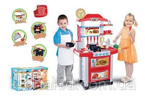 Кухня детская Super Cook 889-3 со световыми и звуковыми эффектами, размер 87-58-34 см, фото 2