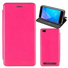 Чехол книжка кожаный G-Case Ranger для Huawei Honor 9 Lite розовый