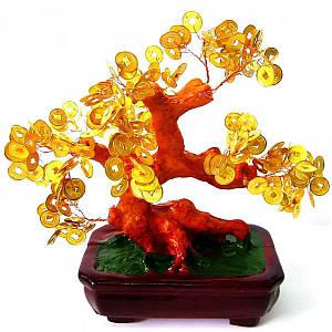 Дерево с монетами (20х15х17 см) ( 20650)
