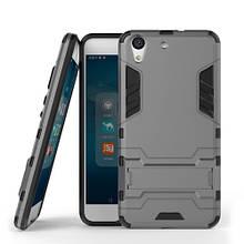 Чехол накладка силиконовый Honor® Defence для Huawei Honor 7a Pro серый