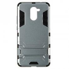 Чехол накладка силиконовый Honor® Defence для Huawei Honor 7c Pro серый