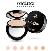 Пудра компактная Malva Face Show Wet & Dry PM-2502