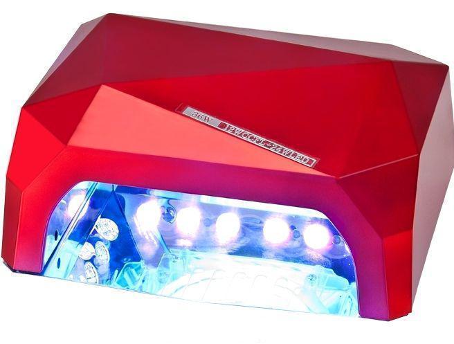 Лампа для ногтей многогранник 36Вт CCFL (UV)+LED