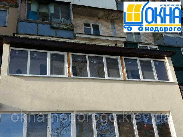 Крыша на балкон в Киеве на ул. Кондратюка 4Б