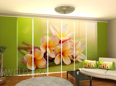 """Панельная фото штора """"Весенние цветы"""" 480 х 240 см"""