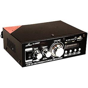 Усилитель звука MEGA-SOUND AK-699BT + ПОДАРОК: Настенный Фонарик с регулятором BL-8772A, фото 2