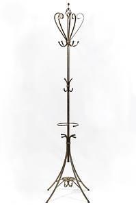 """Вешалка-стойка для одежды """"Париж"""" кованая металлическая 41 х 41 х 180 см"""