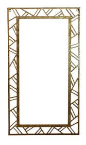 "Рама для зеркала металлическая кованая ""Адель"" 50 х 90 см"