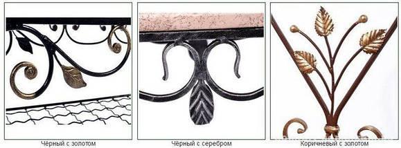 """Настенная металлическая консоль """"Мальта"""" 38 х 19 х 24 см, фото 2"""