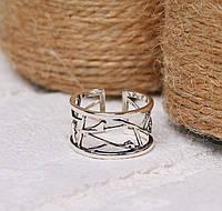 Женское серебряное кольцо #, фото 1