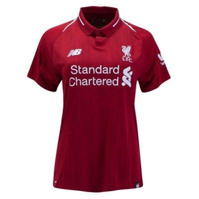 Женская футболка Ливерпуль сезон 18-19 красная домашняя