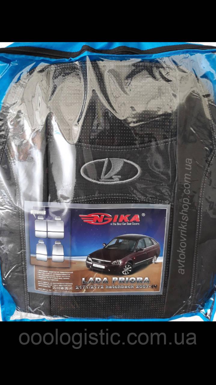 Авто чехлы Lada Priora 2014- HB Nika от 2014