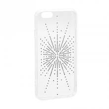 Чехол накладка силиконовый Diamond Younicou для Xiaomi Redmi 6 Pro Silver Shine