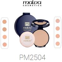 Пудра компактная Malva PM-2504