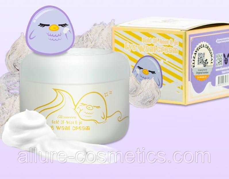 Крем для глаз с экстрактом ласточкиного гнезда ELIZAVECCA Gold CF-Nest B-Jo Eye Want Cream