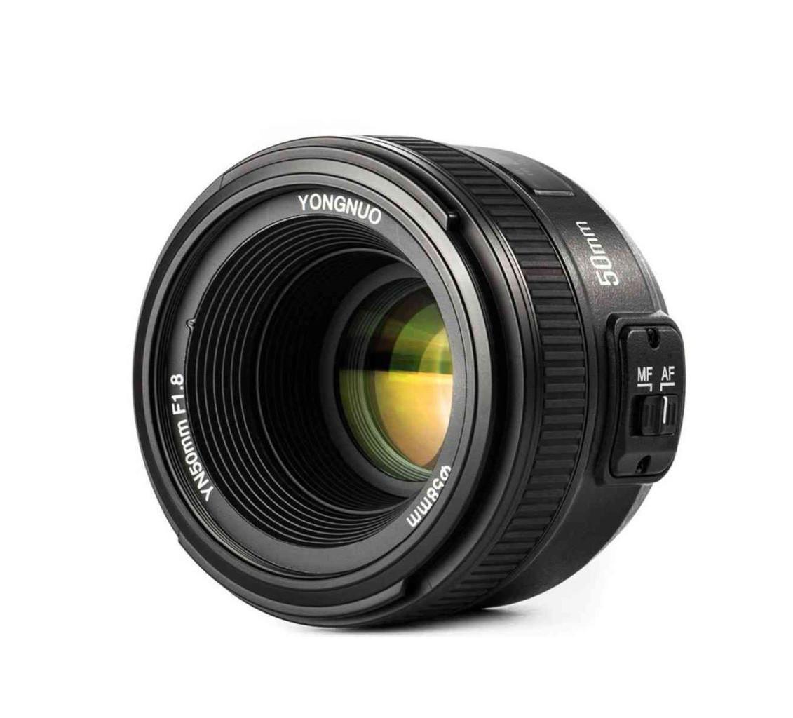 Объектив YONGNUO YN 50mm F/1.8N для Nikon