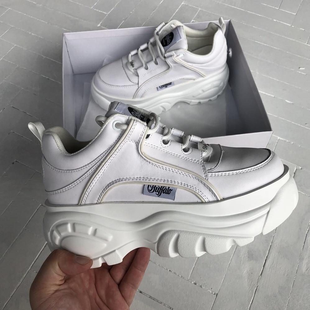 f6e88b41 Женские кроссовки Buffalo White. Живое фото. Люкс реплика ААА+ - Интернет  супермаркет -