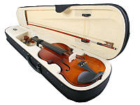 Новая классная скрипка Jago 4/4, три цвета + кейс!, фото 1