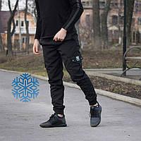Зимние мужские штаны карго спортивные Cargo