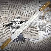 Нож Спутник №1 для сыра двуручный из высокопрочной стали с удобной рукоятью