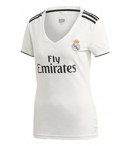 Женская футболка Реал Мадрид домашняя сезон 18-19