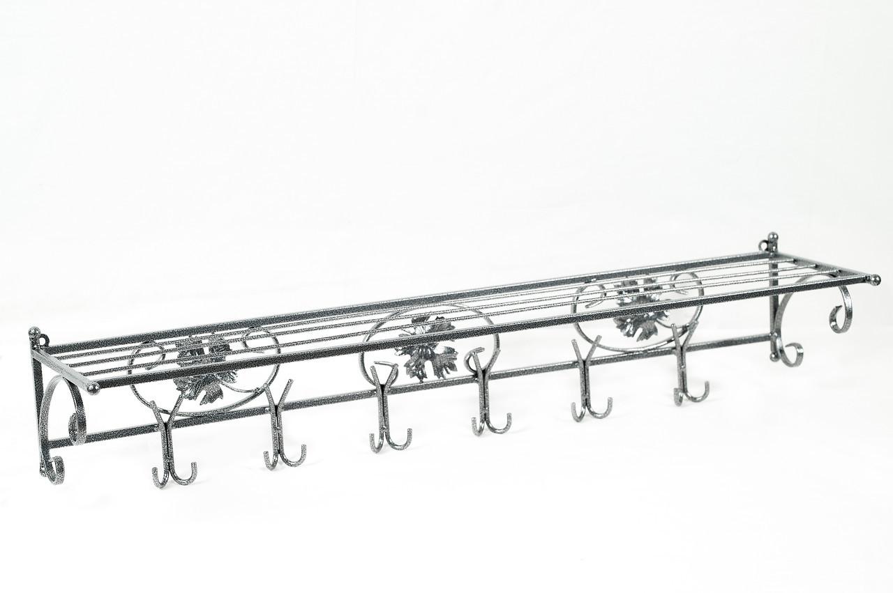 """Вешалка для одежды настенная металлическая """"Шеффилд""""  Ширина - 100 Глубина - 25 Высота - 35"""