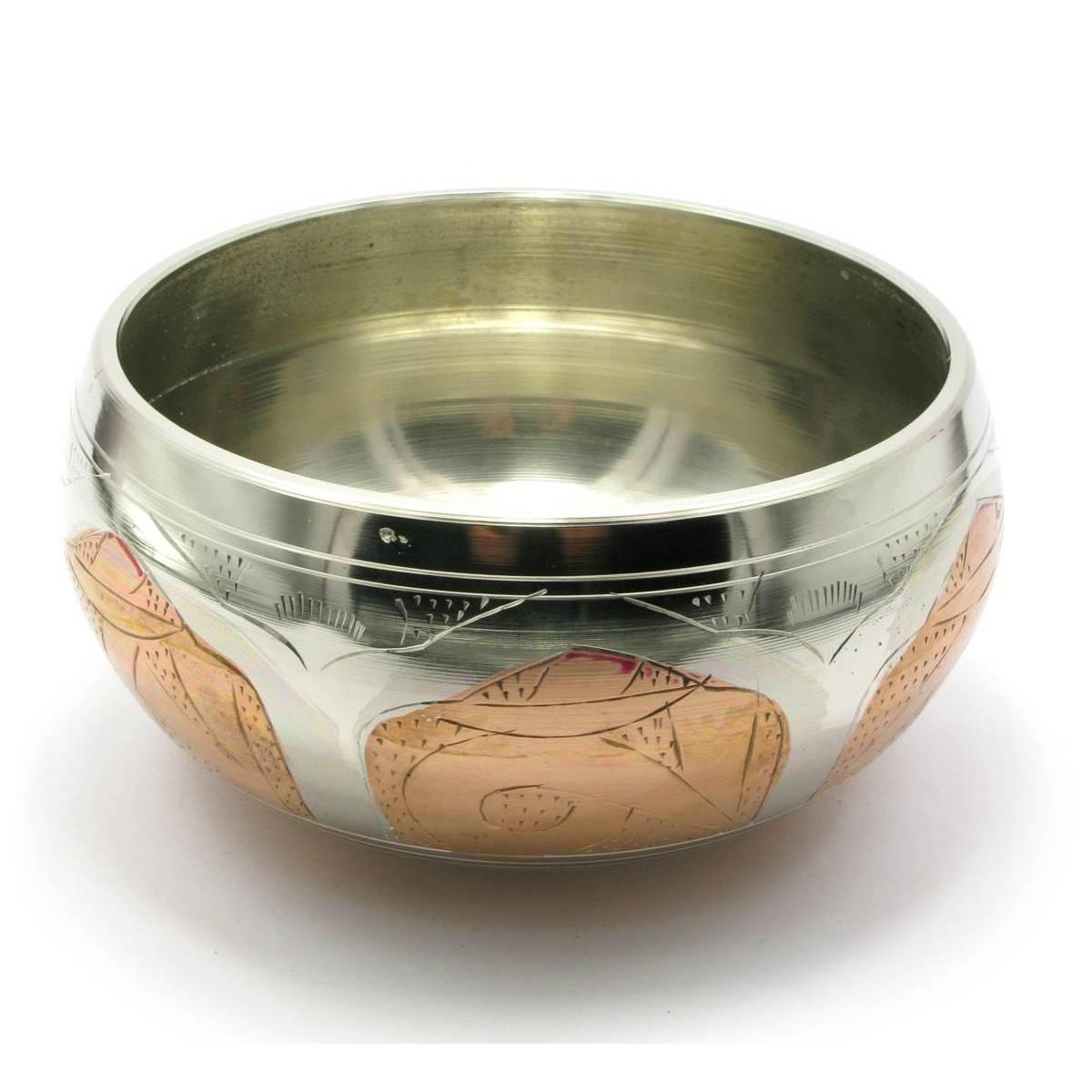Чаша поющая (без резонатора)(d-15 h-6,5 см) ( 27389)