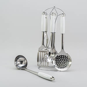 Кухонный набор с подставкой Премиум 7ед. набор кухонных принадлежностей