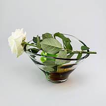 Фруктовница стеклянная Autumn 280 х 175 мм, фото 3