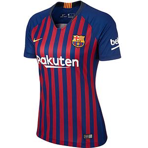Женская футболка Барселона домашняя сезон 18-19