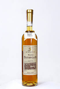 """Ексклюзивне медове вино """"Охтирська медівка з айвою ПаТронАт"""" 0,75 л, 13%"""