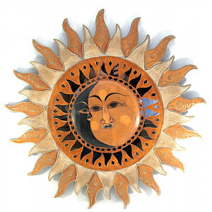 "Зеркало мозаичное ""Солнце "" (d-60 cм) ( 30237)"