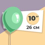 Шар 26 см однотонные