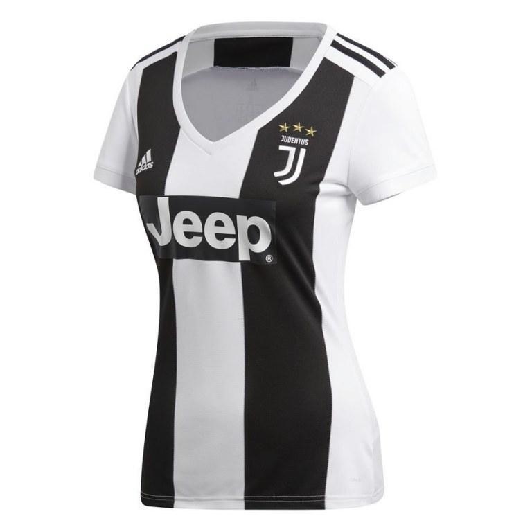Женская футболка Ювентус домашняя сезон 18-19