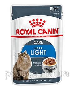 Консервы Royal Canin Ultra Light для кошек склонных к полноте, 85 г
