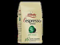 Кофе капсулы Caffe Trombetta L espresso Dolce Più Crema Италия (упаковка 16 шт.)