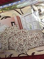 Комплект постельного двуспального ЕВРО/Комлект белья 3-D/Комплект постільної білизни